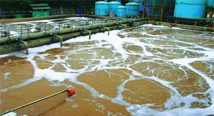 sewage waste water