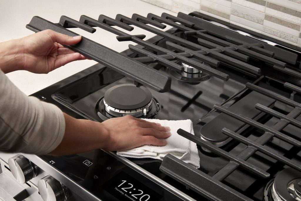 Clean Your Glass Stove Tops